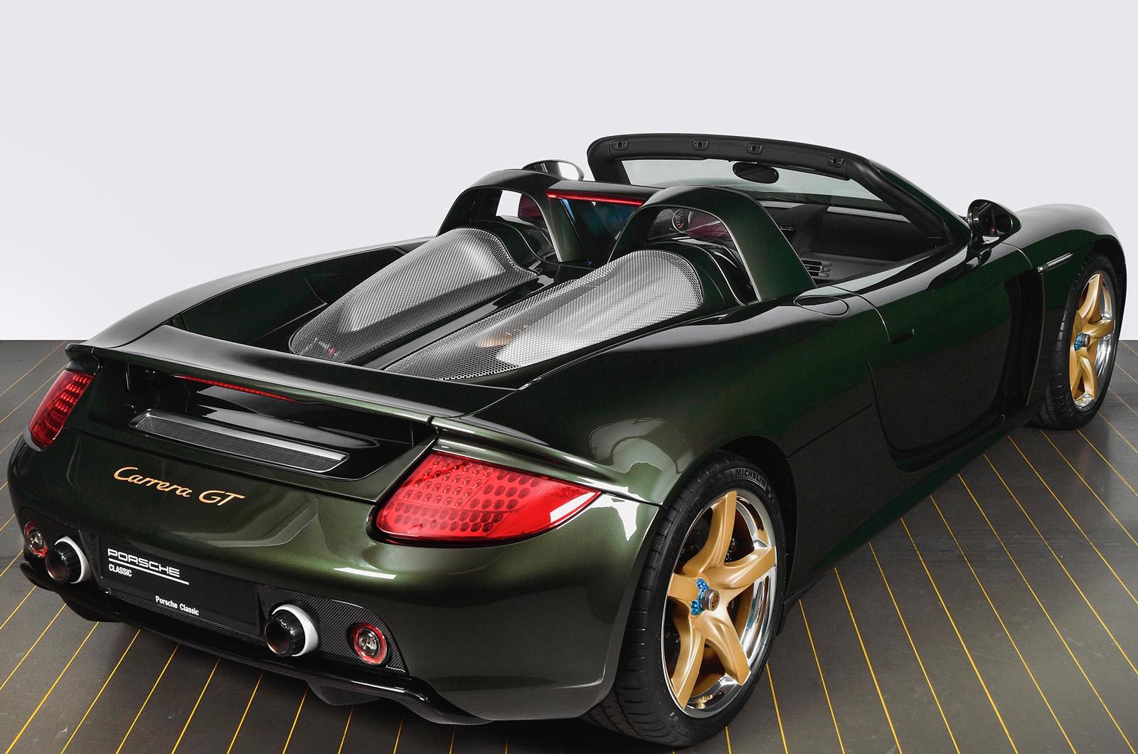 Porsche supercar rebuilt from scratch in unique style