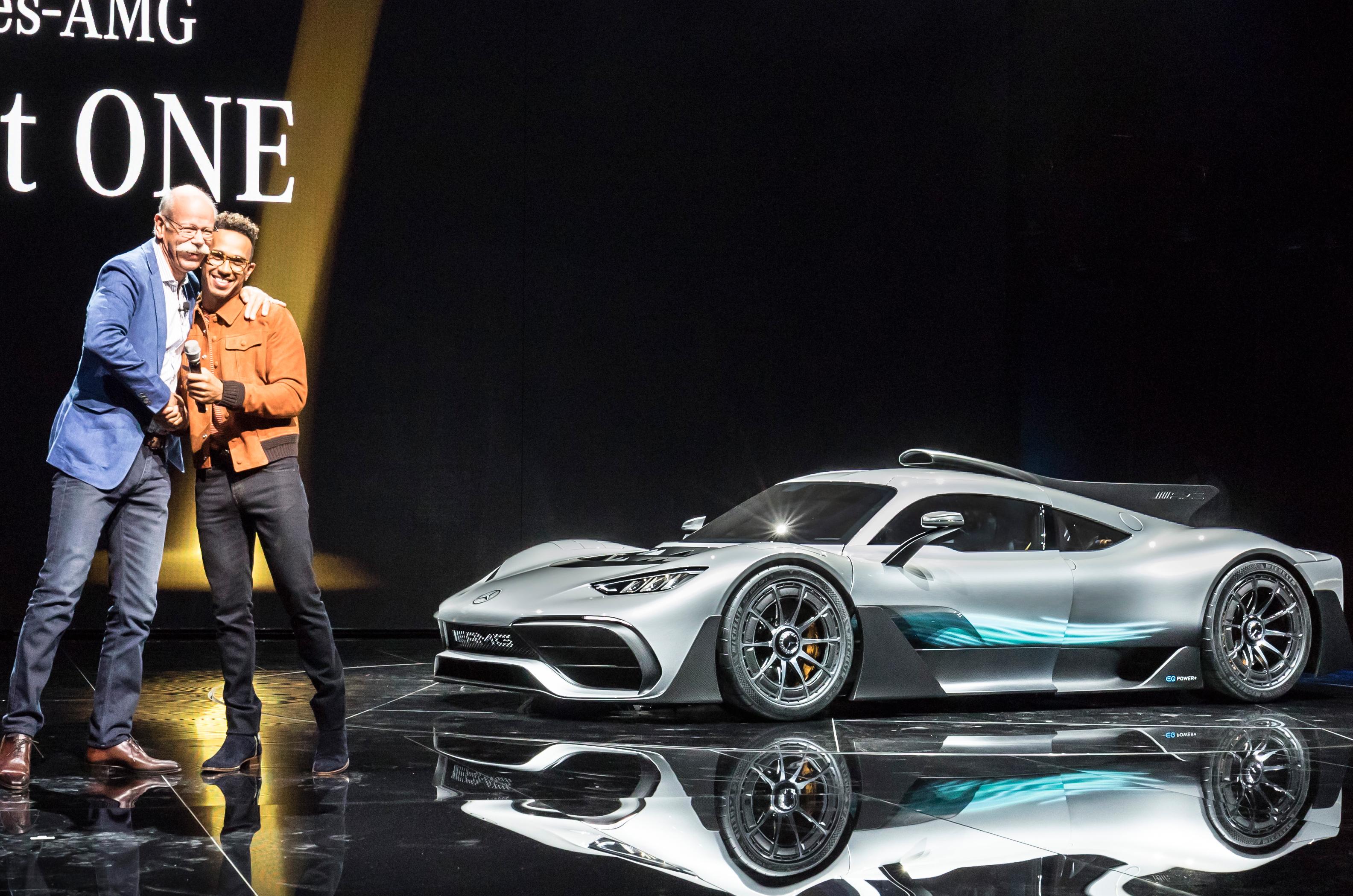 Lewis Hamilton Signed Mounted Photo Display Mercedes