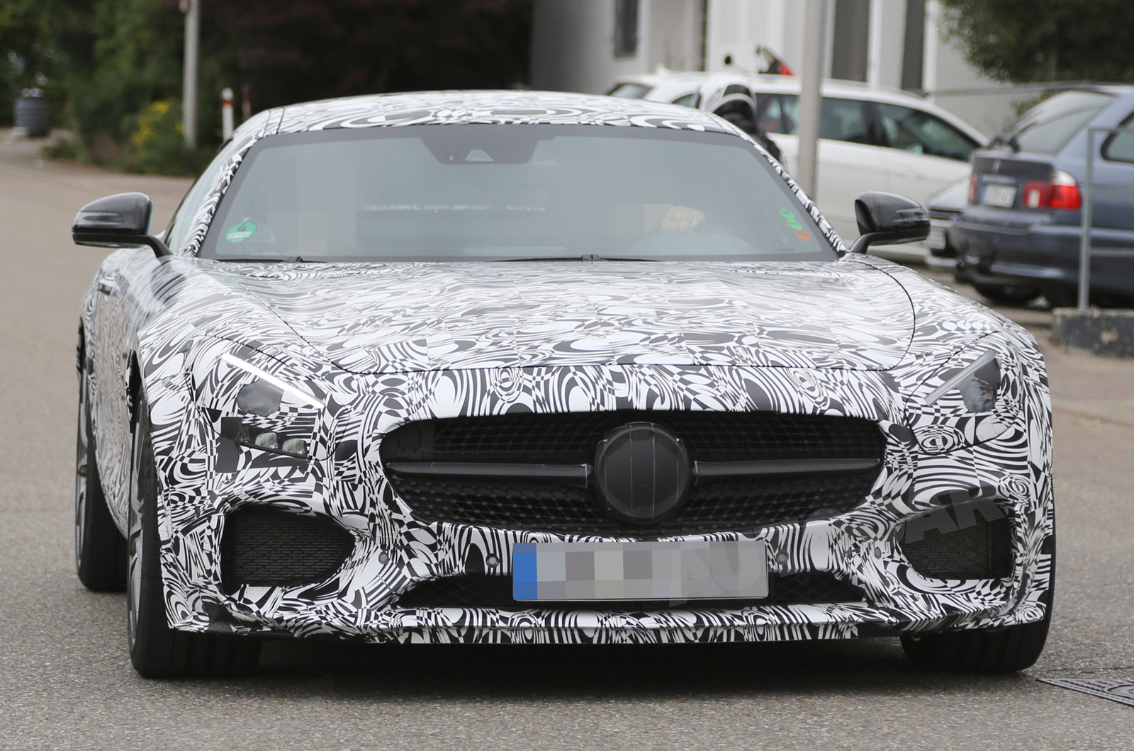 Opel Hofbauer mercedes amg gt nears september reveal autocar