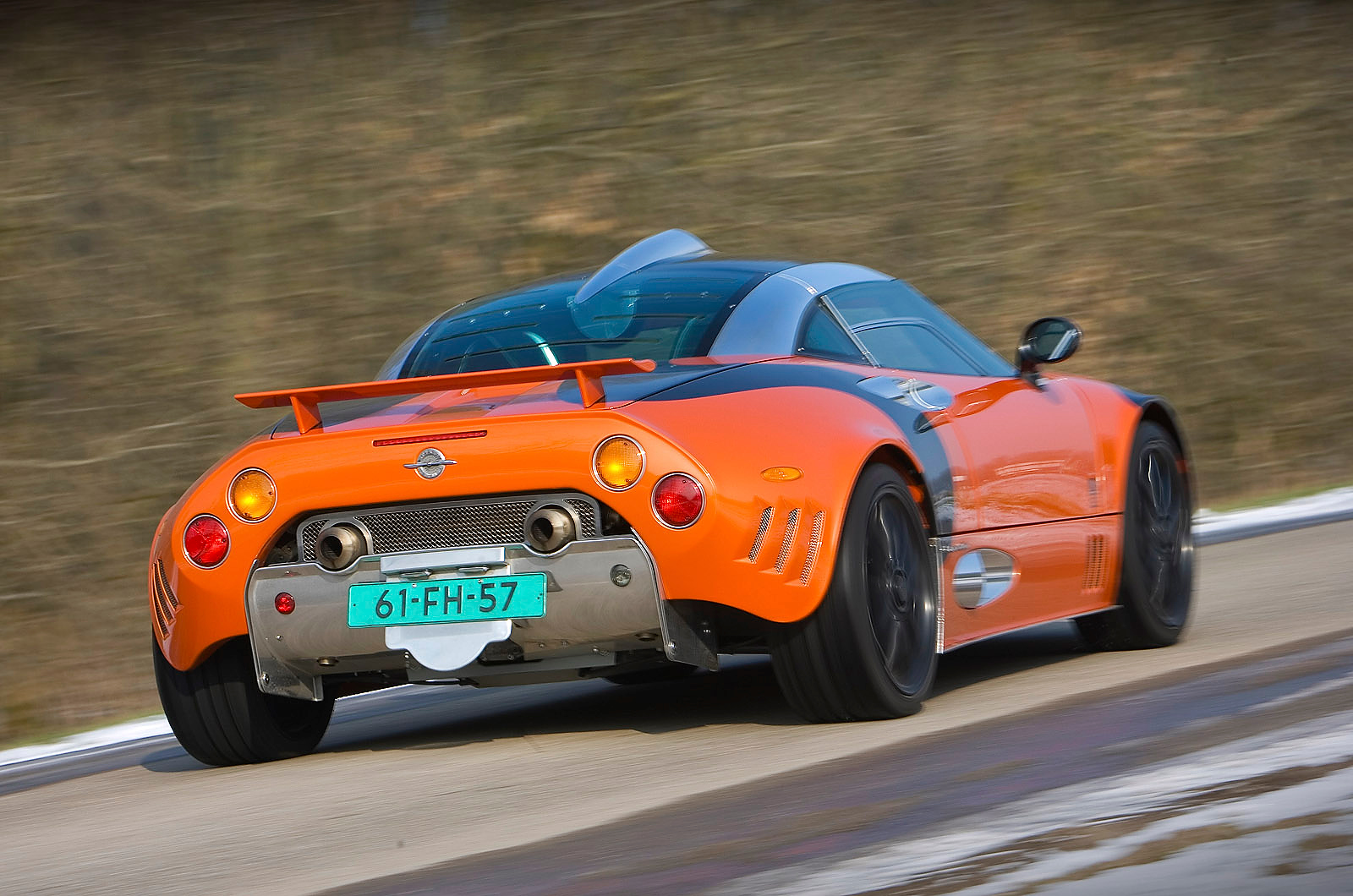 spyker c8 review