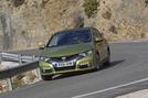 Honda Civic 1.8 cornering
