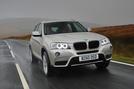 BMW X3 xDrive20d SE front end
