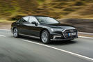 Audi A8 60 TFSIe 2020 UK first drive review - hero front