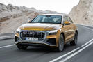 Audi Q8 2018 first drive review hero front