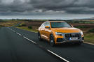 Audi Q8 50 TDI Quattro S-Line 2018 UK first drive hero front