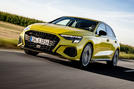 Audi S3 Sportback 2020 first drive review - hero front