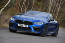 BMW M8 Competition Coupe 2020 UK first drive review - hero front