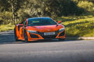 Honda NSX 2019 UK first drive review - hero front