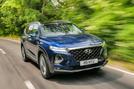 Hyundai Santa Fe 2018 UK first drive review - hero front