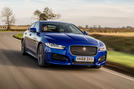 Jaguar XE 20t 2018 UK first drive review - hero front