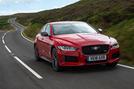 Jaguar XE 300 Sport 2018 UK first drive review hero front