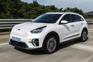 Kia Niro EV 2019 first drive review hero front