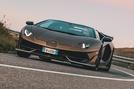 Lamborghini Aventador SVJ Roadster 2019 first drive review - hero front Richard Lane Autocar