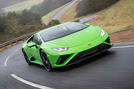 Lamborghini Huracan EVO RWD 2020 UK first drive review - hero front