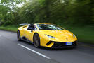 Lamborghini Huracan Performante Spyder 2018 UK review hero front
