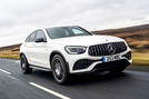 Mercedes-AMG GLC 43 Coupé 2020 UK first drive review - hero front