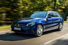 Mercedes-Benz C-Class C 300de estate 2018 first drive review - hero front