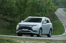 Mitsubishi Outlander PHEV 2018 first drive review hero front