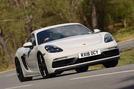 Porsche 718 Cayman GTS 2018 UK review hero front