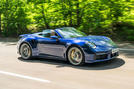 Porsche 911 Turbo S Cabriolet 2020 UK first drive review - hero front