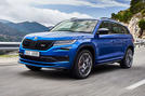 Skoda Kodiaq vRS 2018 first drive review - hero front