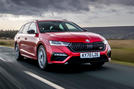 Skoda Octavia vRS Estate 2020 UK first drive review - hero front
