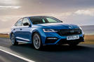 Skoda Octavia vRS TDI 2021 UK first drive review - hero front