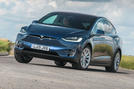Tesla Model X Long Range 2019 UK first drive review - hero front