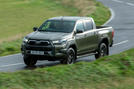 Toyota Hilux Invincible X 2020 UK first drive review - hero front