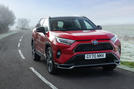 1 Toyota RAV4 PHEV 2021 UK first drive review hero front