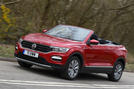 Volkswagen T-Roc Cabriolet 2020 UK first drive review - hero front