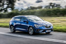 Renault Megane Sport Tourer E-Tech PHEV 2020 first drive review - tracking front