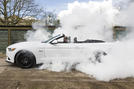Ford Mustang V8 burnout