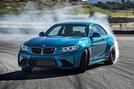 BMW M2 drifting
