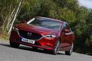 Mazda 6 165 Sport Nav 2018 UK first drive review - cornering front