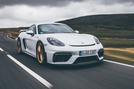 2019 Porsche 718 Cayman GT4 UK review - front