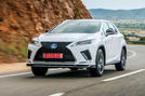 Lexus RX F Sport 2019 front three quarters