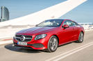 Mercedes-Benz E-Class Coupe E 220 d 4Matic front three-quarter shot