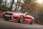 BMW M8 Competition convertible 2020 road test review - hero front