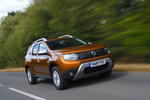 Dacia Duster 2018 road test review hero front
