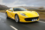 Ferrari 812 Superfast 2018 road test review hero front
