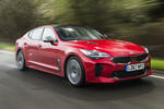 Kia Stinger GT line 2018 review hero front