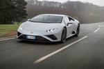 Lamborghini Huracan EVO RWD 2020 road test review - hero front