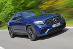 Mercedes-AMG GLC 63 S road test review hero front