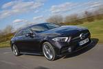 Mercedes-Benz CLS 400d 2018 review hero front
