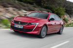 Peugeot 508 2018 road test review hero front