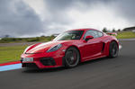 Porsche 718 Cayman GT4 2019 road test review - hero front