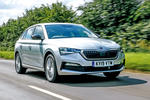 Skoda Scala 2019 road test review - hero front