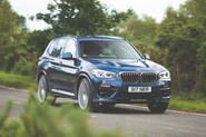 Alpina XD3 2019 UK road test review - hero front
