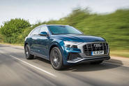 Audi Q8 50 TDI Quattro S Line 2018 road test review - hero front